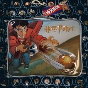NWT Harry Potter Thermos Quidditch Soft Lunch Box